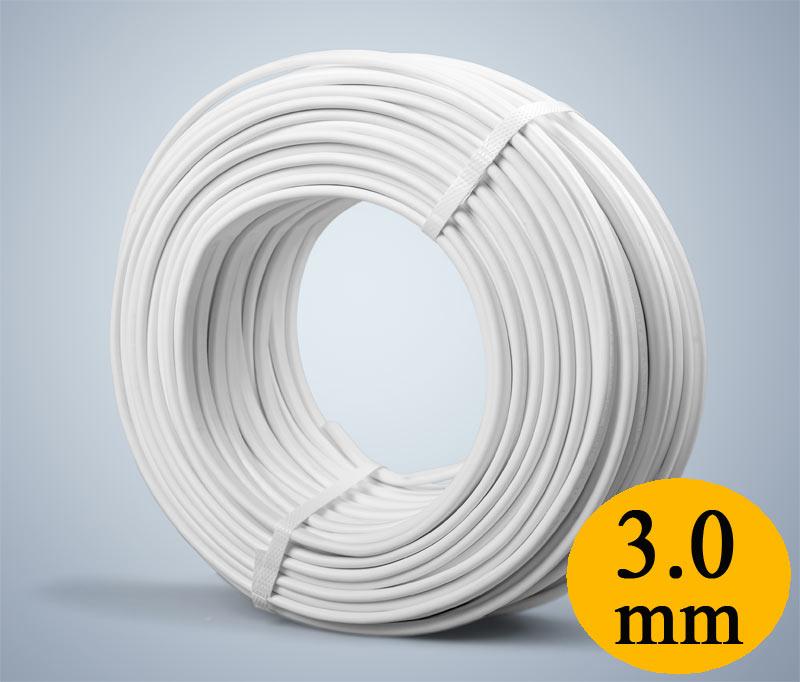 Провод прогревочный (ПНСВ), 3.0мм